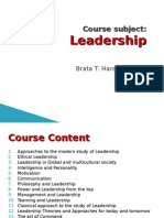 1.Leadership Course