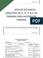 Secuencia Didactica Planeacion