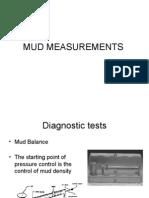 Mud Measurements