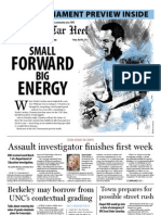The Daily Tar Heel for March 8, 2013