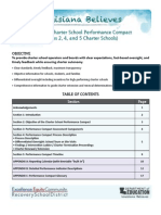 Louisiana Believes Charter Performance Compact 2013