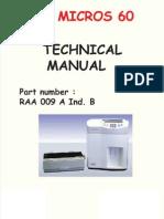 Horiba ABX Micros 60 - Technical Manual 2