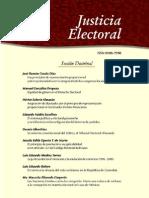 Justicia Electoral Tercera Epoca No 1