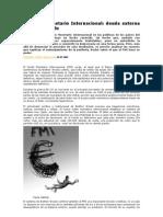 El Fondo Monetario Internacional deuda externa y subdesarrollo.doc