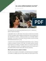 La vida es una enfermedad mortal - Laura Mejía Moreno