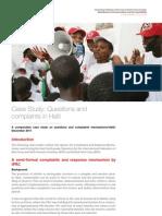 IFRC - Haiti Case Study 1
