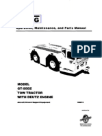 Gt-50dz Tow Tractor With Deutz Engine(Manuale Officina)