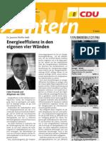 CDU intern - März 2013