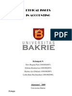 55980592 Ethical Issues in Accounting