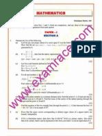 IAS Mains Mathematics 2003 (1)