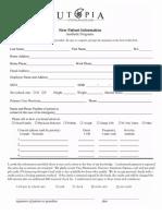 MediSpa Intake Forms