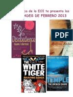 NOVEDADES DE FEBRERO 2013.doc