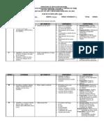 Plan de Estudios 1ero 2013