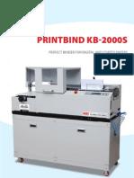 Brochure Binding Machine
