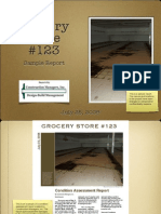 Sample Report - Grocery Store