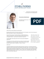 Management Training Mitchell Phoenix - An Interview with a Turnaround Expert