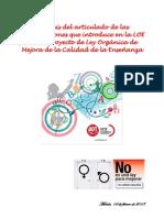 Desarrollo Articulado FETE-UGT de La Reforma Educativa-Feb2013