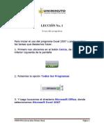 Manual de Excel 2007 Basico - Uniminuto