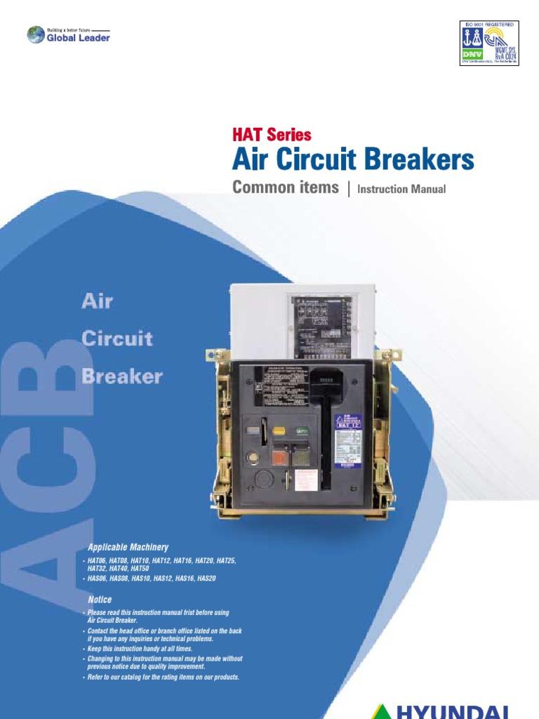 Hyundai Air Circuit Breaker | Switch | Electrical Engineering