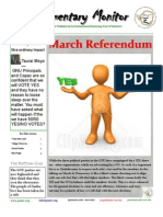 Parliamentary Monitor Newsletter Issue 7.13
