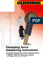 Clamping Force Measurement techniques