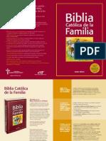Folleto Bibilia Familia