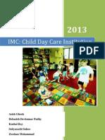 Child day care marketing communication