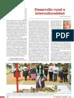 Desarrollo Rural E Interculturalidad