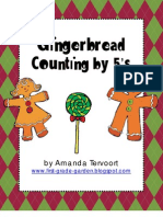 Gingerbread Men Counting by 5s Mini Unit