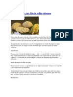 Aprenda a fazer um Pão de milho saboroso