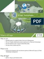 iD'sign Technologies Corporate Profile