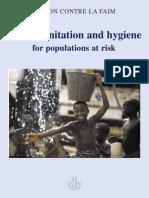 ACF WASH Manual Chapter 4 Sanitation