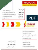 Logmat New Profile Calender Registration