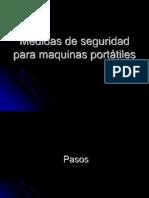 Medidas de Seguridad Pulidoras Angulares