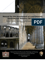 2007_manual for the Assessment of Load Bearing URM Structures_ok Ok Ok