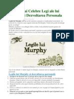 15 Legi Murphy