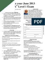 June 2013 CFA L1 MRU Reg Form Apr-May