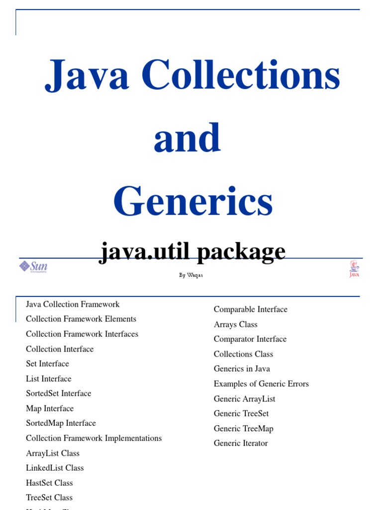 21912468 Java Collections Genericsppt Interface Computing