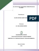ECOSISTEMAS TERRESTRES DE DE COLOMBIA