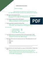 Feedback Questionnaire analysis