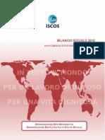 Bilancio Sociale ISCOS 2010