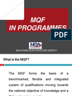 MQF in Programs