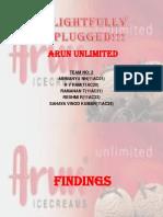 Arun Case Study