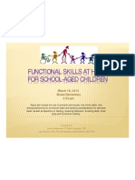 functional skills at home