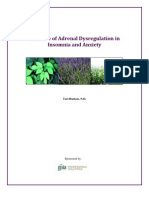 White Paper - The Role of Adrenal Dysregulation in Insomnia and Anxiety_0