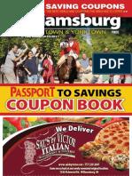 Williamsburg Coupon Book