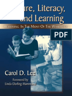 Culture, literacy and learning