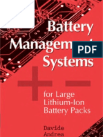 Battery Management Systems f y Packs by Davide Andrea