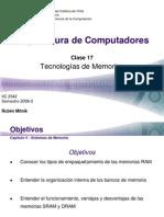Tecnologias Memoria Ram