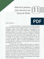 11 La Centralidad de La Persona en El Concepto Educativo de Elena de White